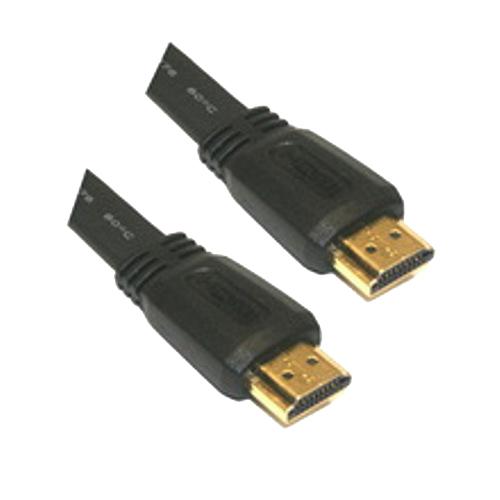 Cable HDMI V1.4 (Alta velocidad / HEC) con ferrita. A/M-A/M. 10m